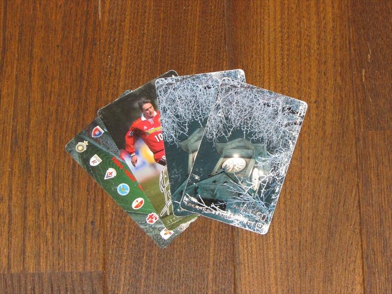 久しぶりに使い切ることができたテレホンカード。財布やカードケースに入れっぱなしで十数年でしたが、ちゃんと使えました