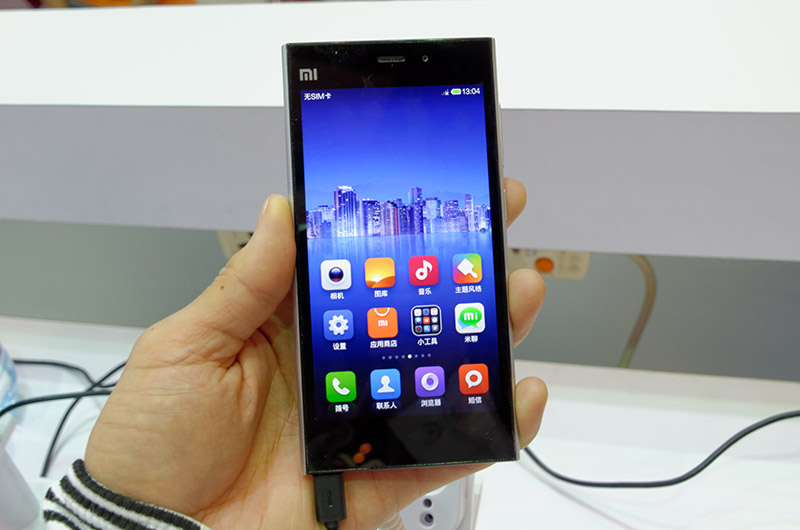 XiaomiのAndroid端末Mi3