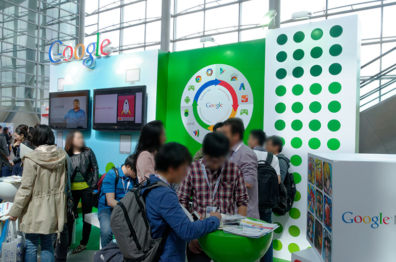 GoogleもAdMobを紹介するブースを出展