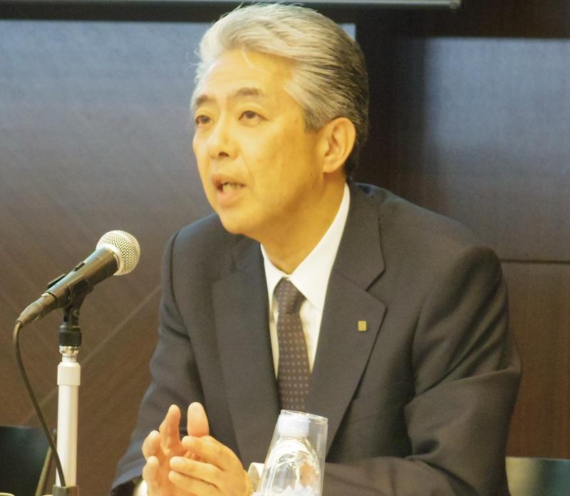 京セラ代表取締役社長 山口悟郎氏