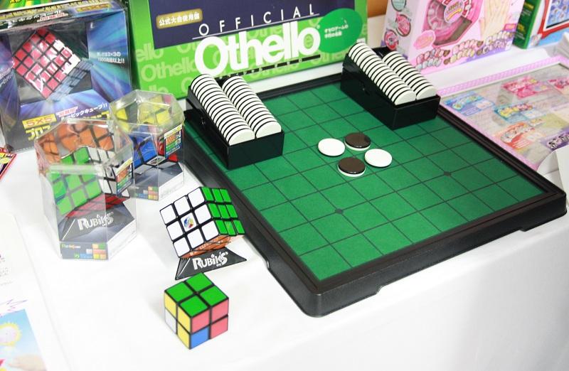 ルービックキューブやオセロを手がける玩具メーカー