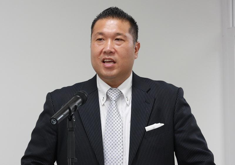 クロスリンクマーケティング 代表取締役の平石鳳志氏