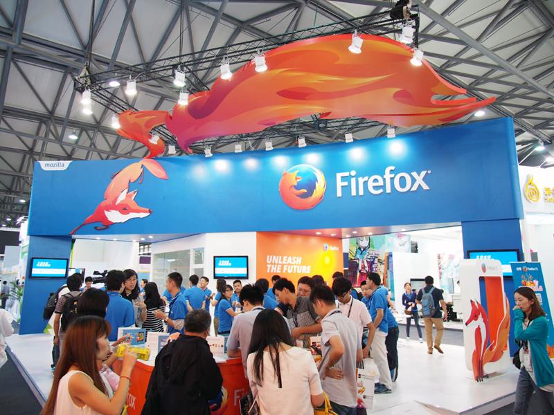 MozillaはFirefox OS端末を出展