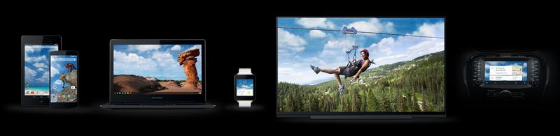 「Google I/O 2014」で発表されたプラットフォームやハードウェア