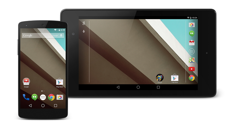 「Android L Developer Preview」