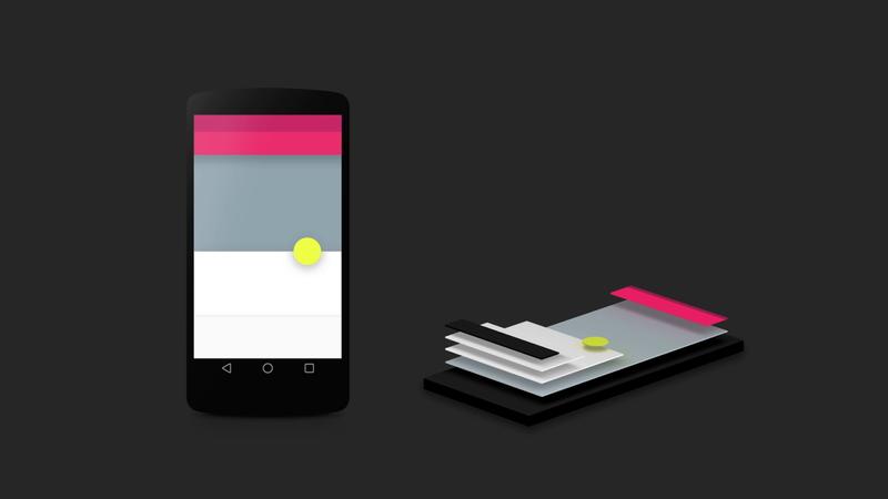 Googleの「Material design」とレイヤーの概念