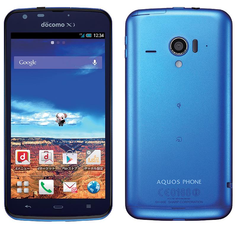 AQUOS PHONE ZETA SH-06E
