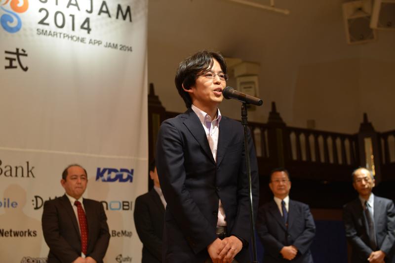 モバイルハードウェア部門の講評を述べたITmedia Mobile 編集長の田中聡氏