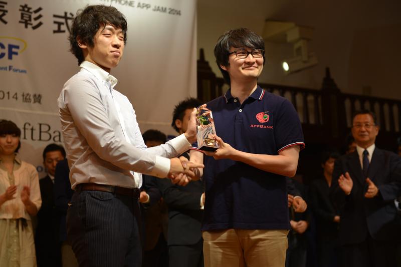 モバイルコンテンツ部門で最優秀賞を受賞した「モンスターストライク」
