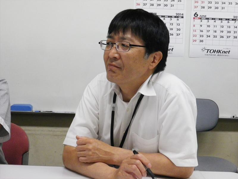 青森県 企画政策部 情報システム課の森田誠氏