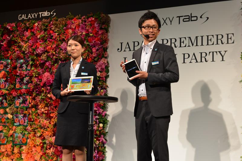 サムスン電子ジャパン 無線事業本部 GALAXYマスターの増田夏恋氏、竹内健太氏