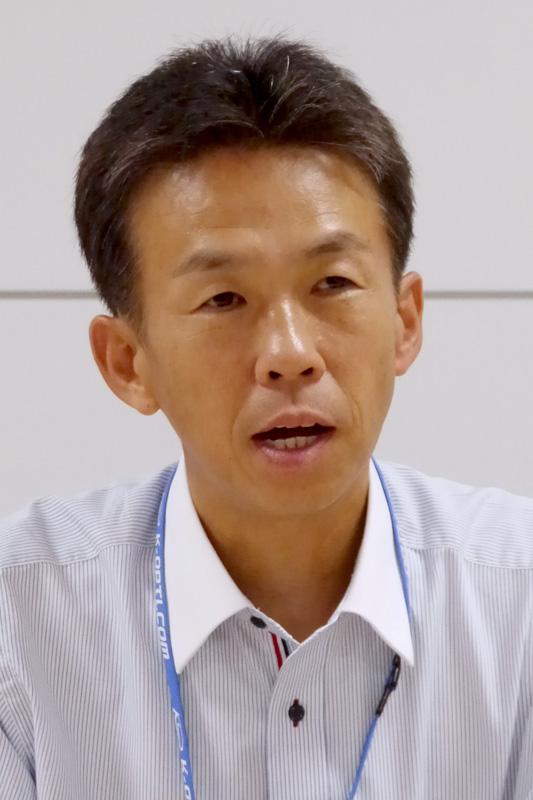 津田和佳氏