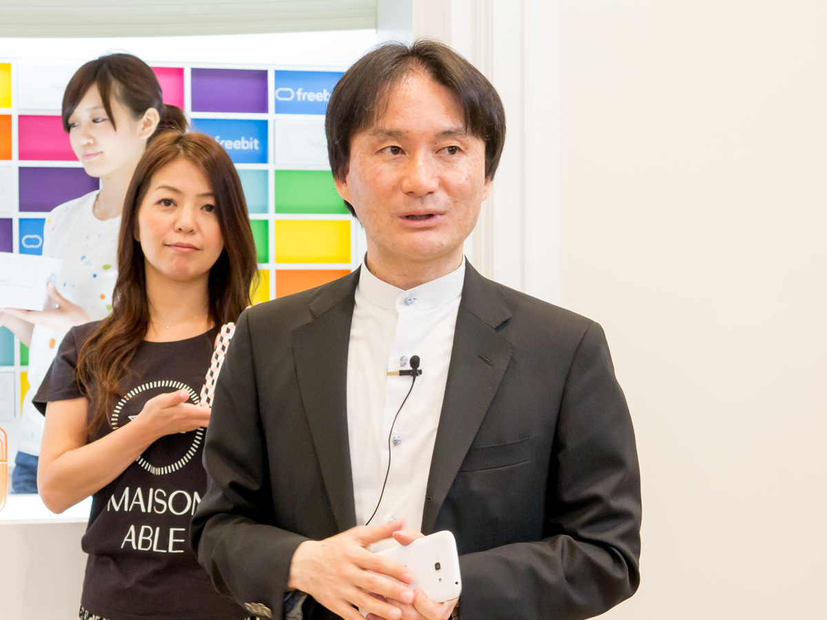 フリービット株式会社代表取締役社長CEOの石田宏樹氏