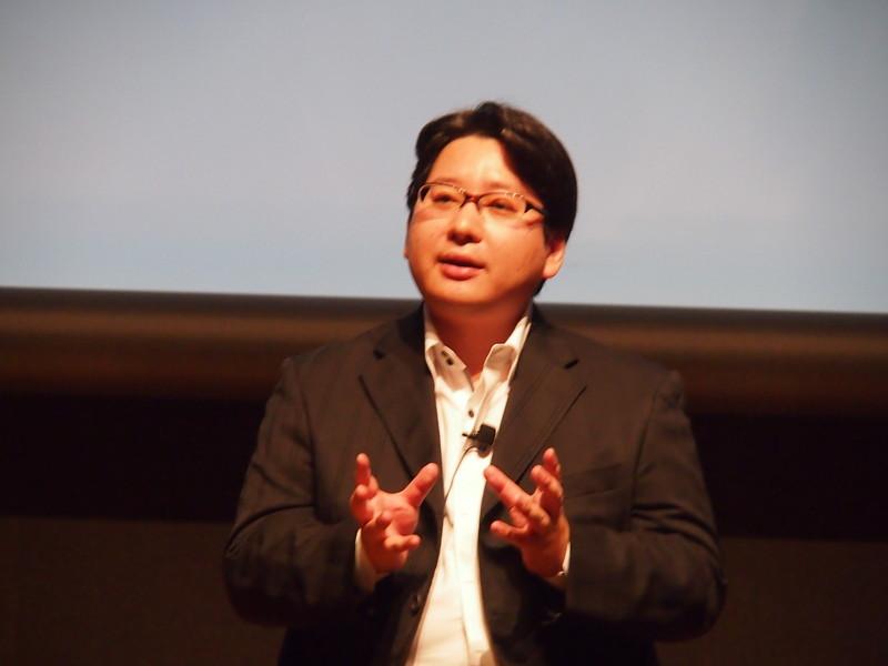 LINE株式会社 上級執行役員 舛田氏