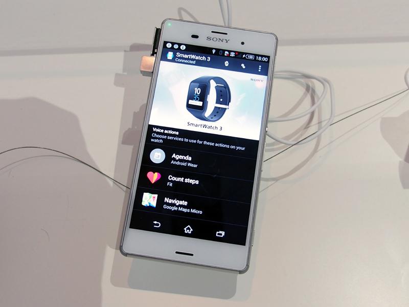 スマートフォンとは専用アプリで連動