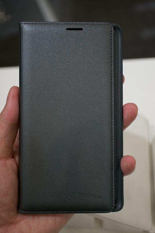 「GALAXY Note Edge Flip Wallet」