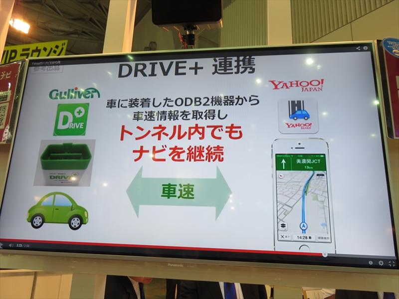 DRIVE+連携機能
