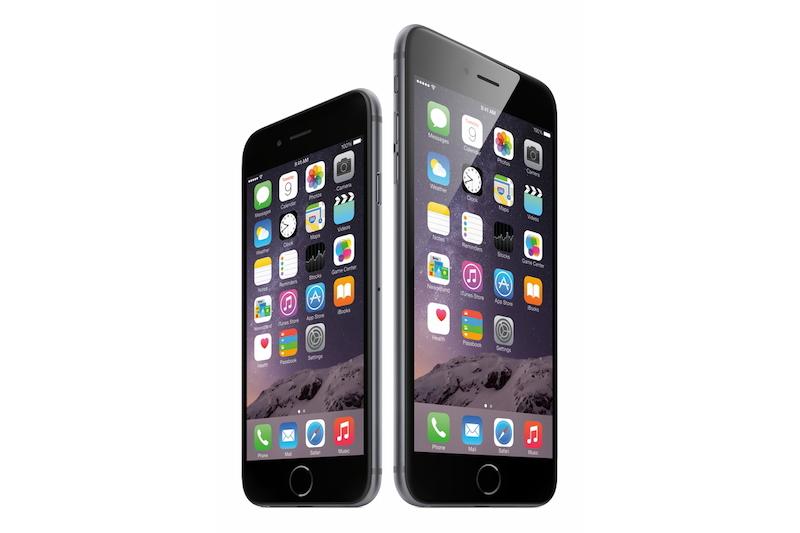 「iPhone 6」「iPhone 6 Plus」