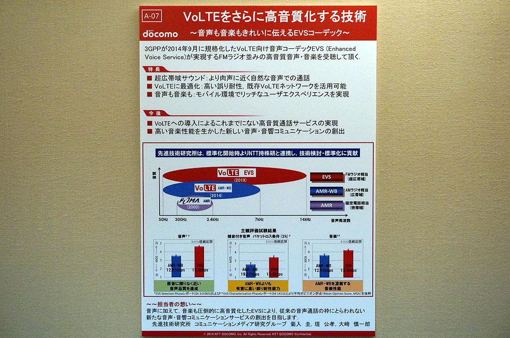 VoLTEをさらに高音質化するコーデック「EVS」