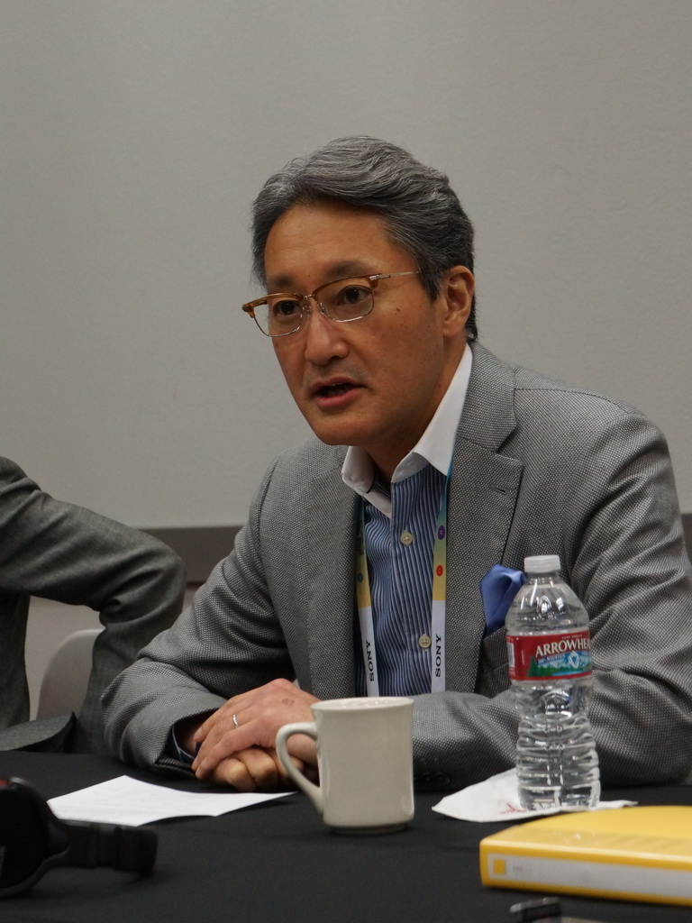 ソニー 代表執行役社長兼CEOの平井一夫氏