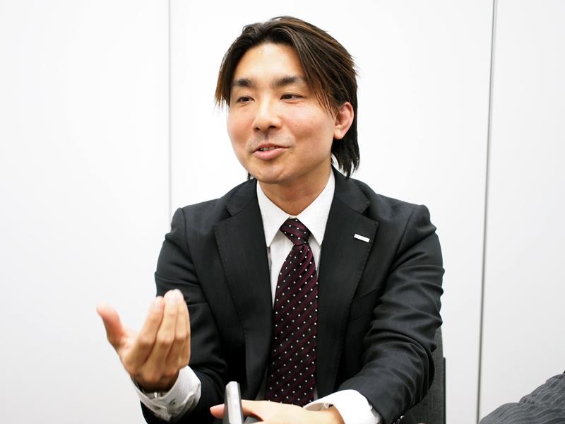 パナソニック AVCネットワーク社の櫻井氏