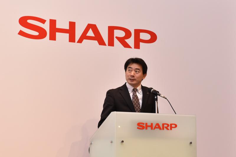 シャープ 通信システム事業本部 グローバル商品企画センター 戦略企画部 部長の中田尋経氏