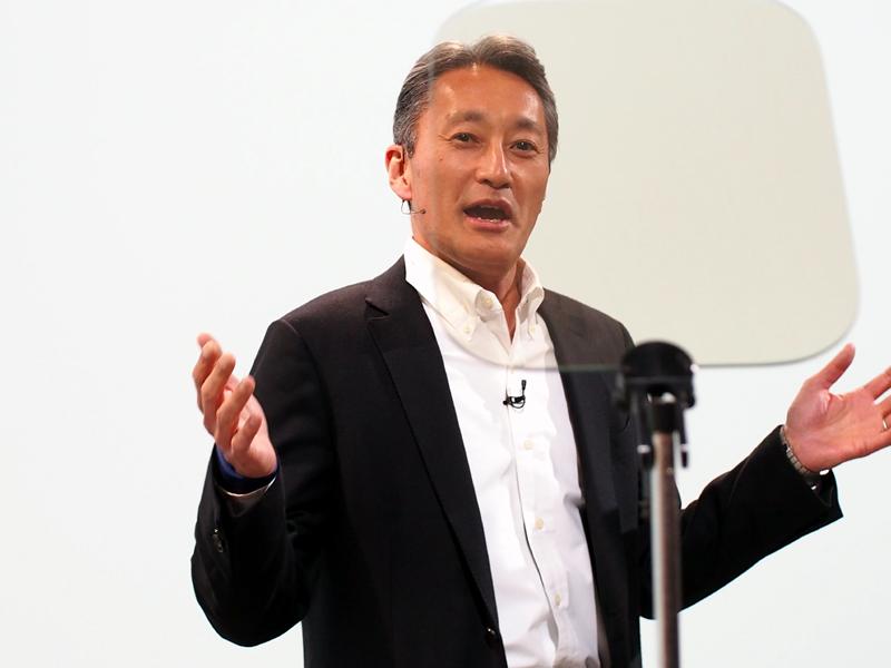 ソニーの平井社長
