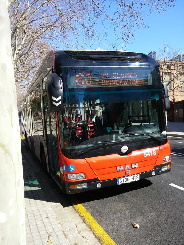 最近はGoogleマップのルート探索がかなり使える。日本ではあまり乗らない路線バスだが、海外での移動にはとても便利