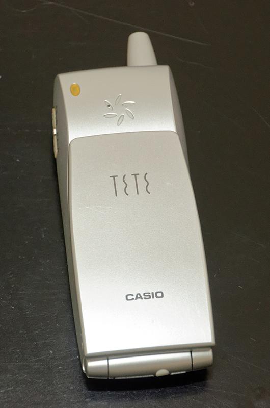 PHS「PH-450」は発信元の電話番号によって着信メロディを自動作曲して再生する機能をもつ