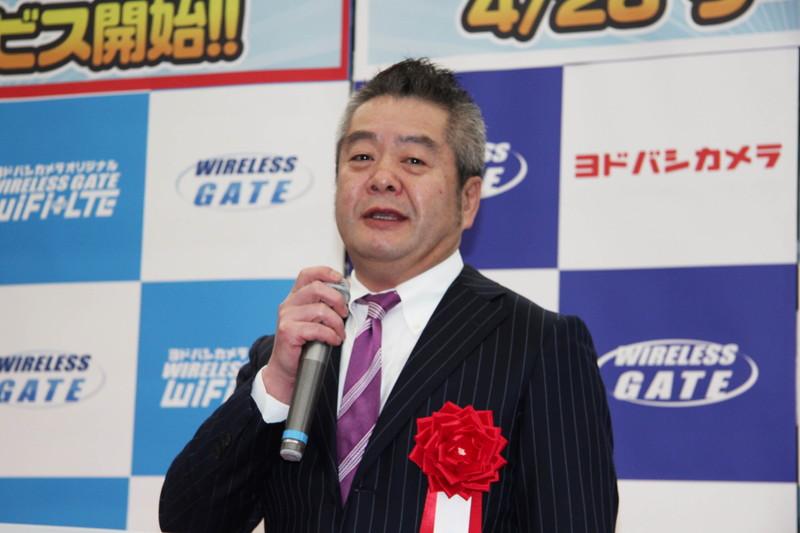 ヨドバシカメラ 常務取締役販売本部長 日野文彦氏