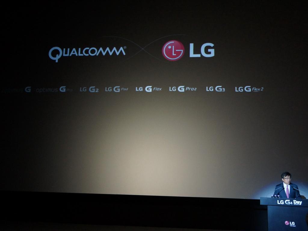 LGではOptimus G以降、「G」シリーズで継続的にQualcommのSnapdragonシリーズを採用