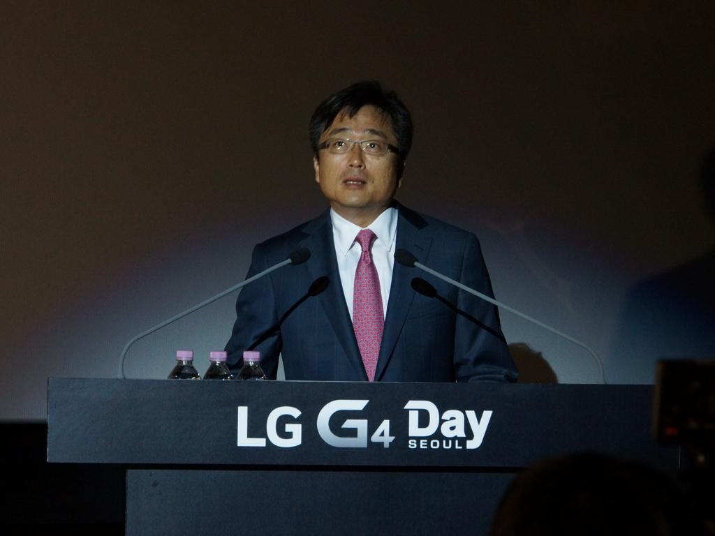 ゲストとして招かれたクアルコムアジアのト・ジンミョン副会長からは、クアルコムとLGの強いパートナーシップをアピール
