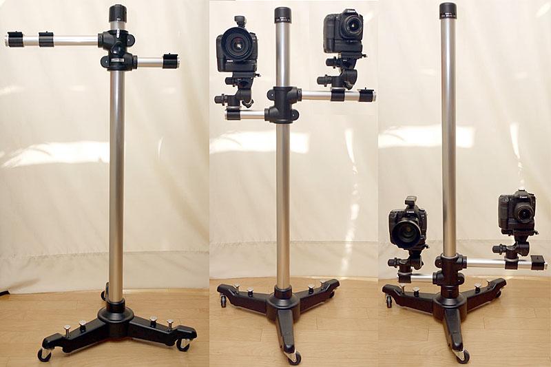 WISTAの「サブスタンド88」。本来は小スタジオでの撮影や、証明写真撮影、七五三撮影に使われるスタンドですが、ブツ撮りにも非常に便利に使えちゃいます。