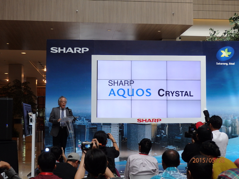 P.T. Sharp Electronics Indonesia(SEID) 社長の入江史浩氏