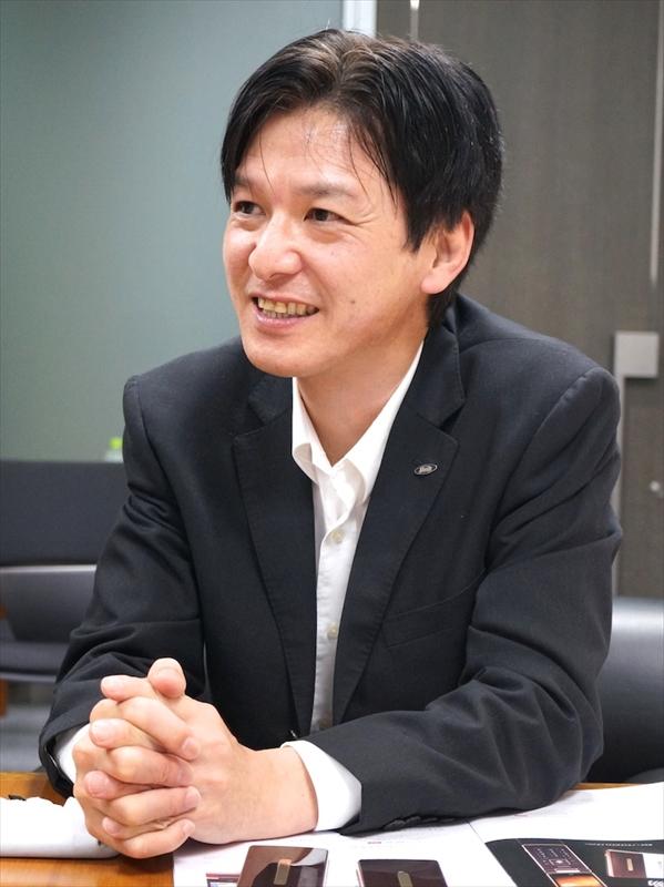 シャープの濱田氏