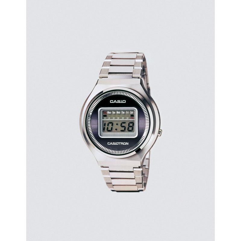 世界初のオートカレンダー付き腕時計「カシオトロン QWO2-10」:1974年(昭和49年)発売