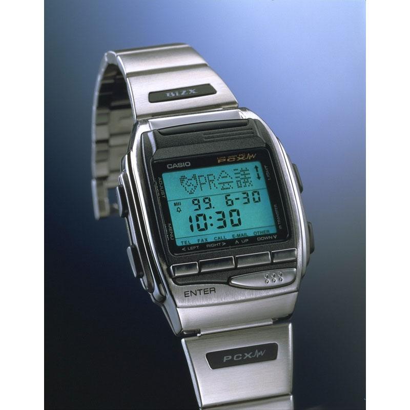 赤外線通信によるパソコンリンク機能を搭載「PCクロス HBX-100」:1998年(平成10年)発売