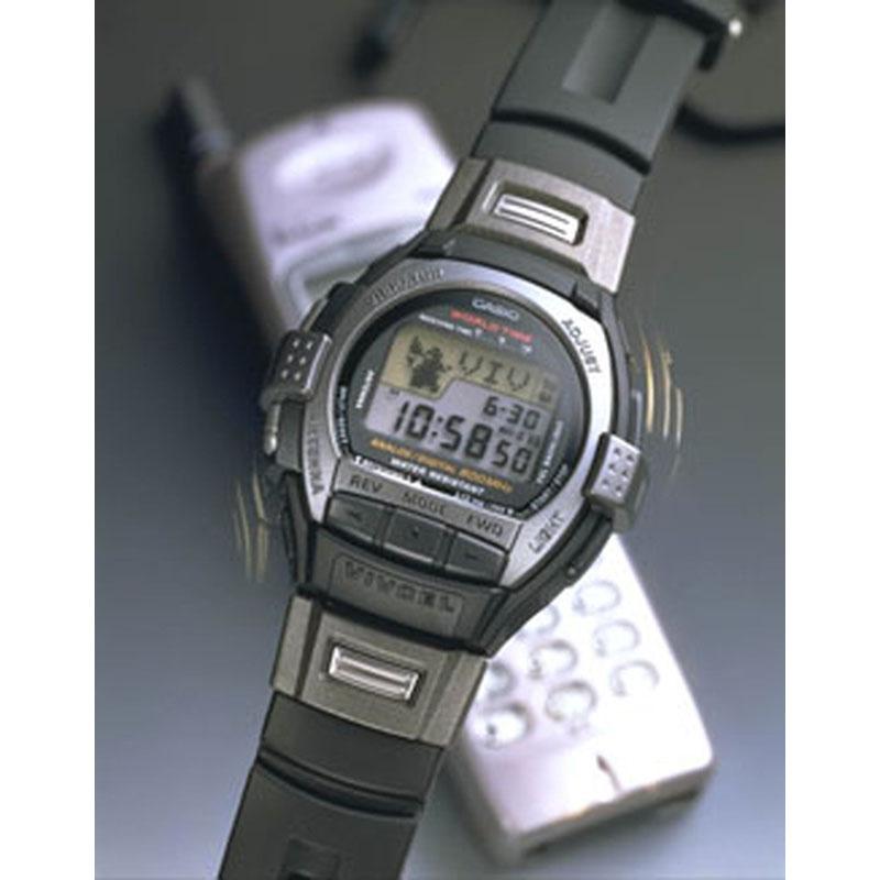 携帯電話が発信する800MHz帯信号を感知し、振動で知らせる「ビブセル VCL-100」:1998年(平成10年)発売