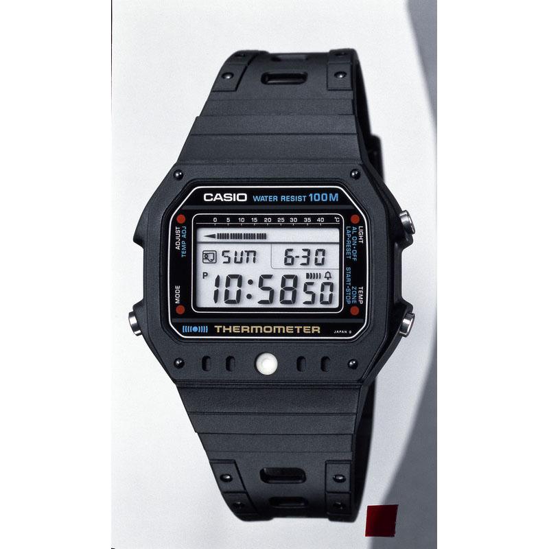 温度測定機能・温度アラームを搭載した腕時計「サーモメーター TS-1000」:1982年(昭和57年)発売