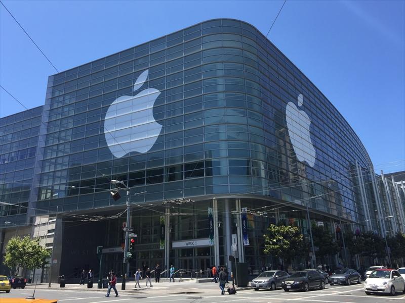 WWDC 2015が開催されたアメリカ・サンフランシスコのMoscone Center