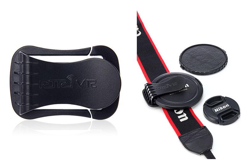 サンワダイレクトで購入した「レンズキャップホルダー 品番:200-DG004」。シンプルなグッズですが、なかなか便利に使えております♪
