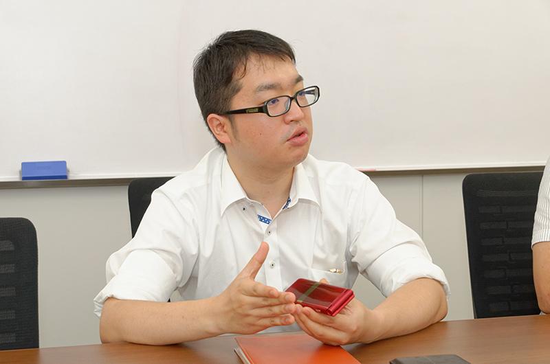 富士通株式会社 ユビキタスビジネス戦略本部 プロモーション統括部 第2プロダクト部 森田博典氏