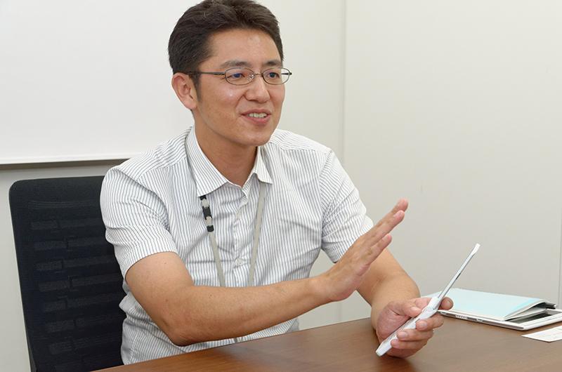 富士通株式会社 モバイルフォン事業本部 ソフトウェア開発センター 第2開発部 千葉敏博氏