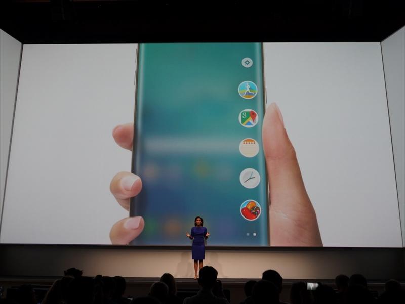 エッジスクリーンを活かしたピープルエッジをベースに、アプリのお気に入りを登録できるようにした「appedge」