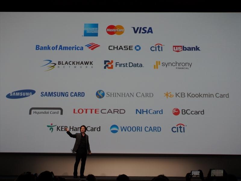 American ExpressやVISA、MasterCardをはじめ、各社のクレジットカードに対応