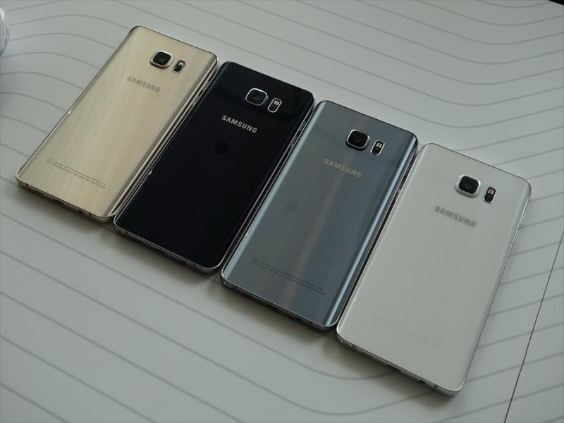 カラーバリエーションは左からGold Platinum、Black Sapphire、Silver Titanium、White Pearlの4色をラインアップ
