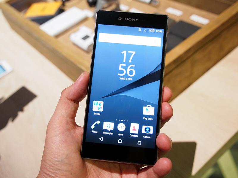 5.2インチと、従来モデルと同サイズ、同解像度の「Xperia Z5」