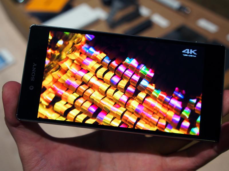 4Kディスプレイを搭載した5.5インチの「Xperia Z5 Premium」