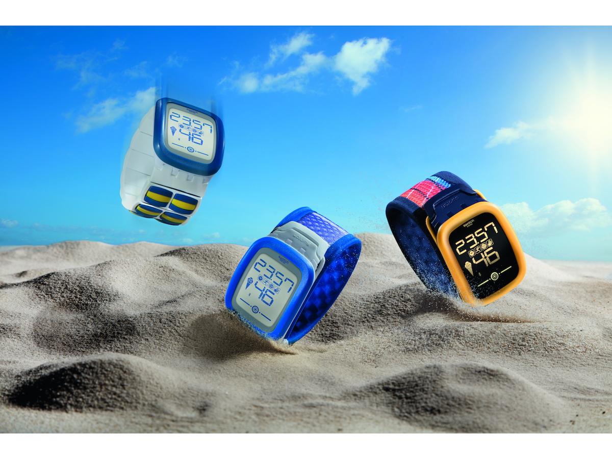 「Swatch Touch Zero One」