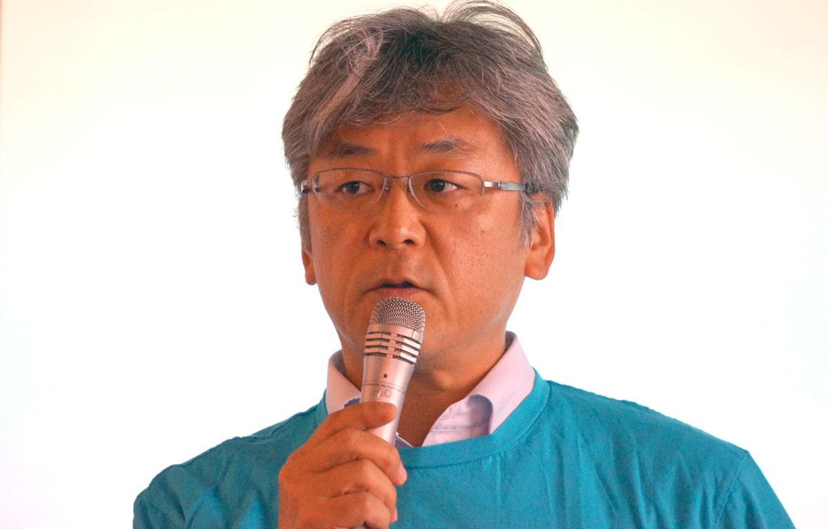 ソフトフロントサービス事業部長の高須英司氏